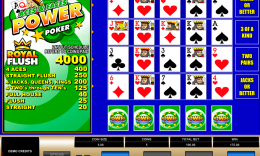 Aces and Faces Power Poker