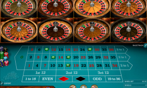 Multi-Wheel European Roulette Gold Series